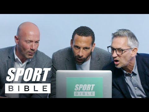 England Legends Rio Ferdinand, Alan Shearer & Gary Lineker Rate Your Football Skills