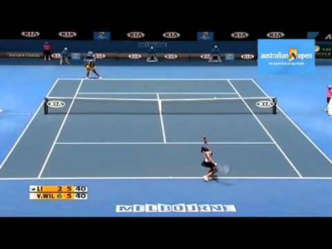 [HL] Li Na v. Venus Williams 2010 Australian Open [QF]