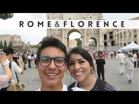 Rome + Florence Italy | TRAVEL VLOG
