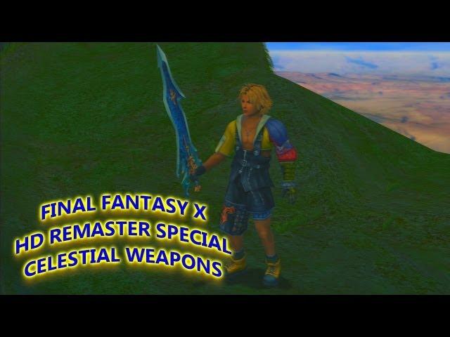 (JPN)Final Fantasy X HD Remaster Special: Celestial Weapons
