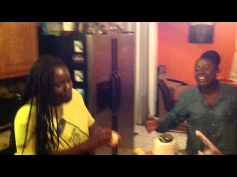 Diana Antwi Hamilton @ HOME with Family The Antwi's giving praise to GOD ENSI WOYIE part 2