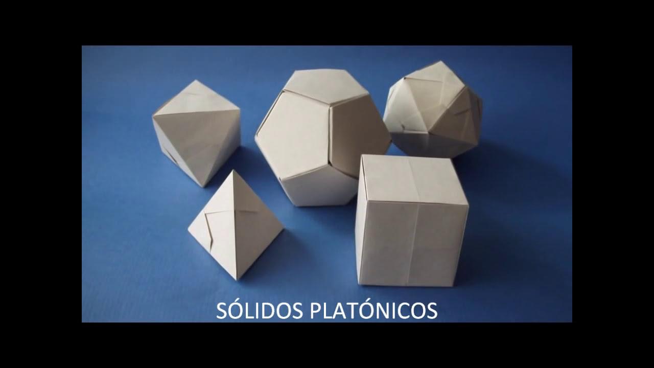 SÓLIDOS PLATÓNICOS.wmv - YouTube