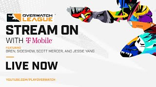 Overwatch League Stream On with T-Mobile