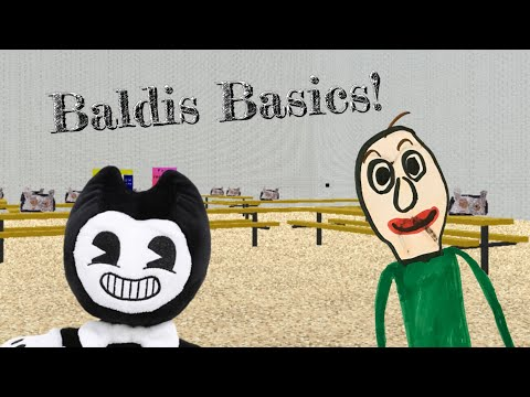 Bendy Plush: Bendy Meets Baldi!