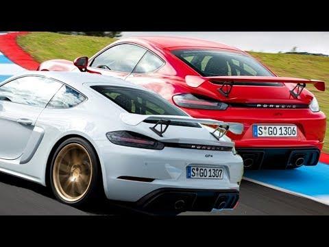Porsche Cayman GT4 // Guards Red vs Carrera White