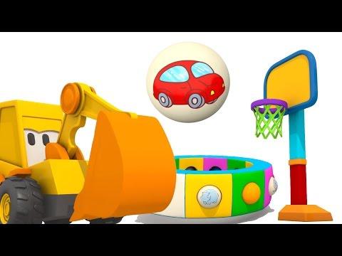 Развивающие мультики для малышей про Экскаватор Масю - Веселая Карусель: Посуда