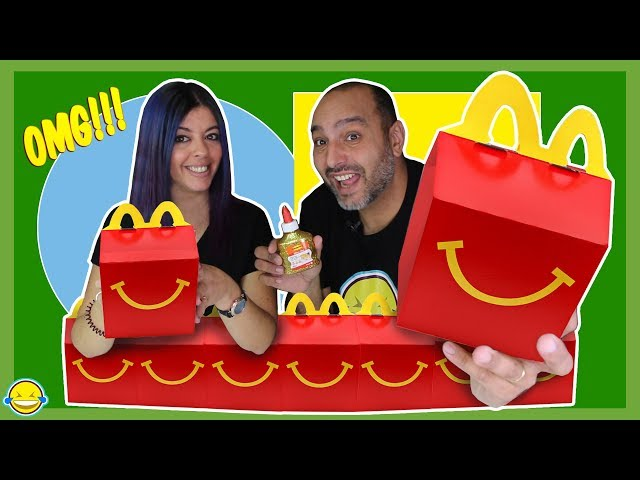 DON'T CHOOSE WRONG MCDONALD'S MYSTERY BOX 🎁 Slime con Happy Meal Momentos Divertidos