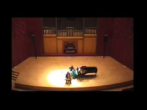 Chopin - Cellosonate in g-moll, Op. 65 (Shoshana Rudiakov & Dawid Grigorian)
