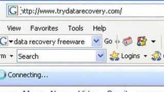 Data Recovery Freeware Search