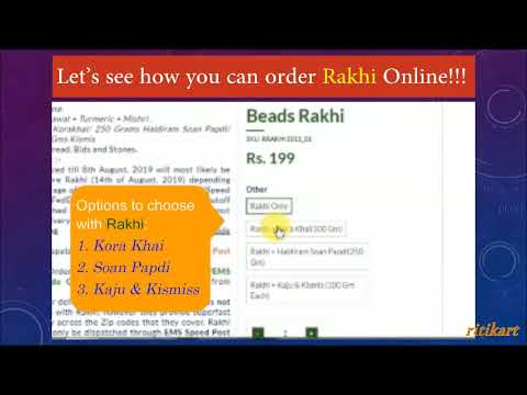 How To Buy And Send Rakhi Online To Your Loving Brother Staying In India Or In Any Country?