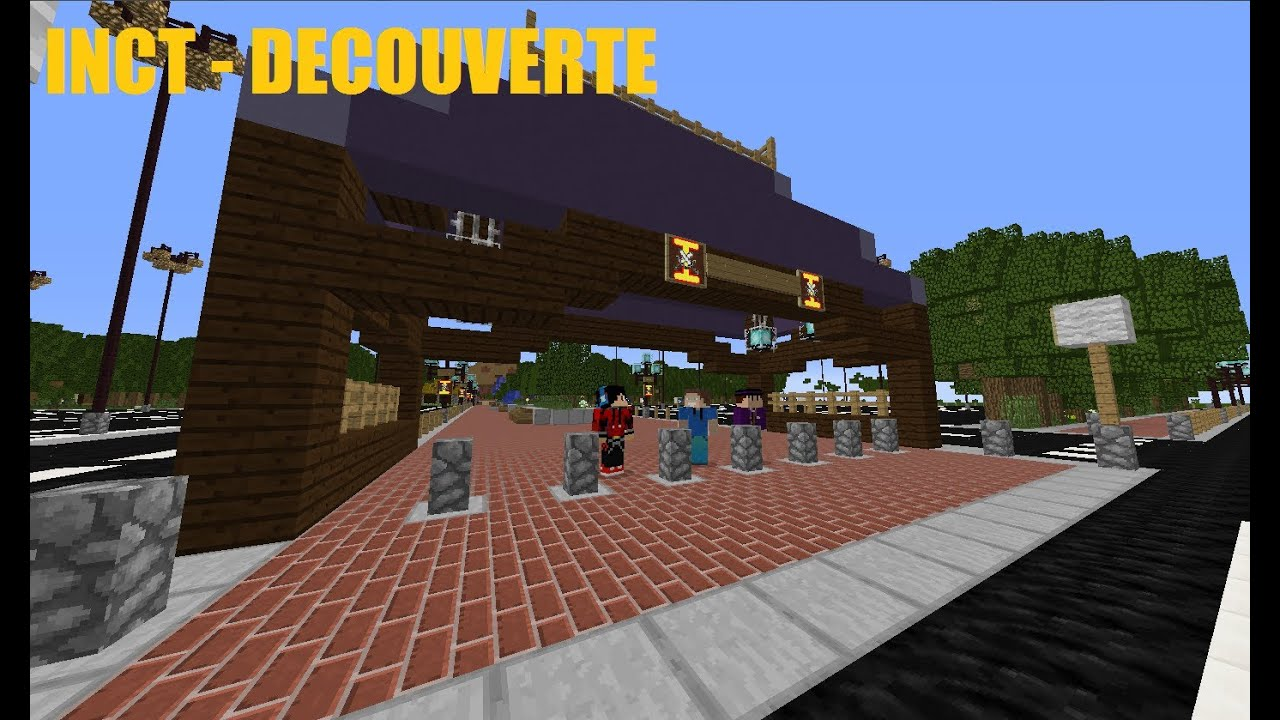 serveur minecraft parc d 39 attraction inct youtube. Black Bedroom Furniture Sets. Home Design Ideas