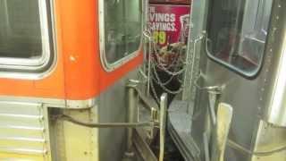 Broad Street Subway Line in Philadelphia (orange line)