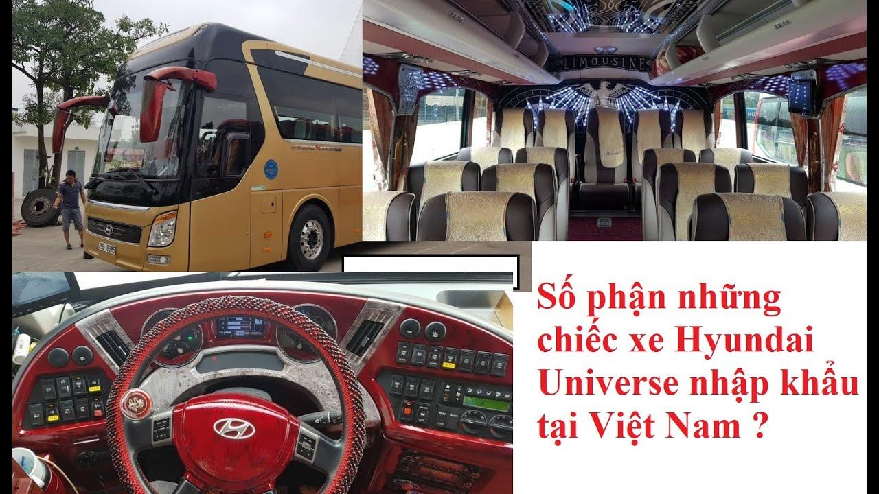 Số phận những chiếc xe Hyundai Universe nhập khẩu tại Việt Nam ?  Chuyên mục tạp chí ô tô số 03