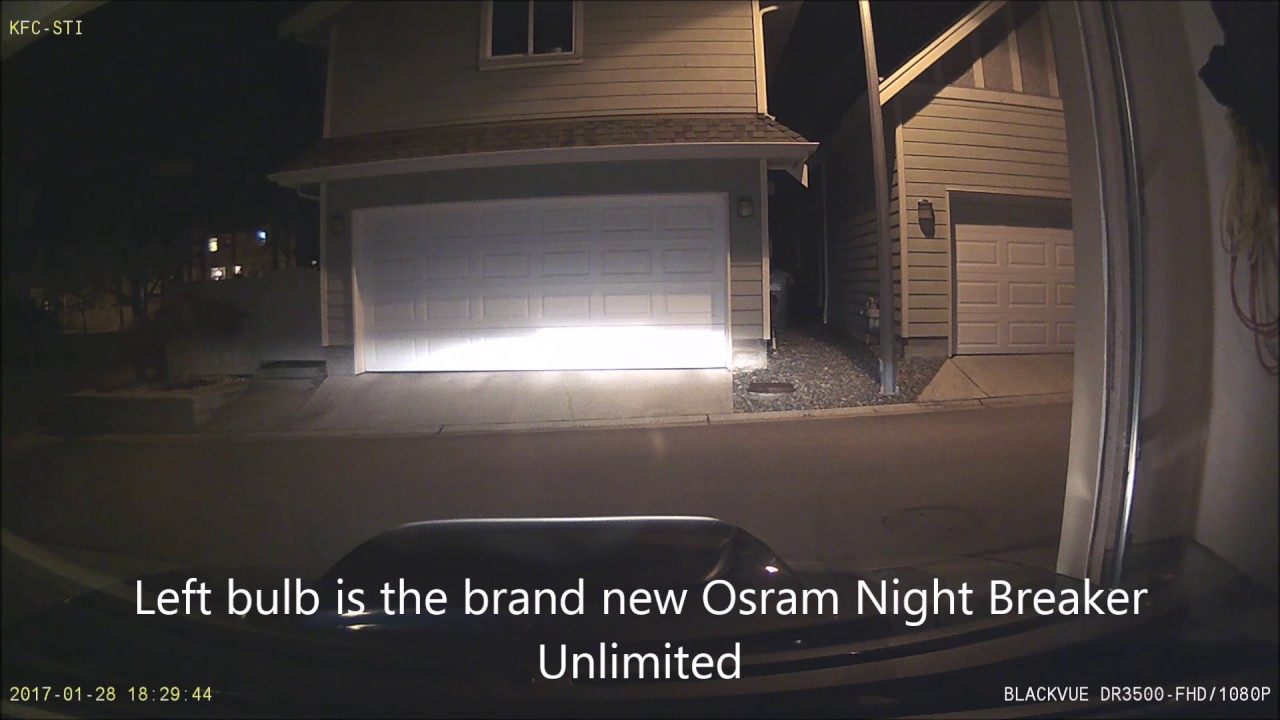 osram night breaker unlimited vs 7 year old philips x. Black Bedroom Furniture Sets. Home Design Ideas