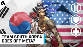Going Off-Meta To Counter Doomfist Reaper? - Team South Korea vs. Team USA | OWWC 2019