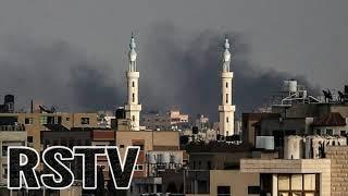 Se intensifican los Ataques sobre la linea de Gaza por parte de cazas Israelitas
