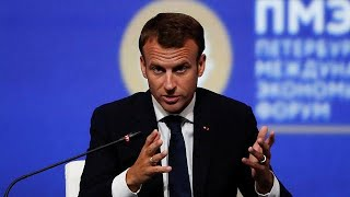 Macron meets with head of rights group