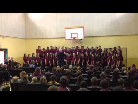 Concert by Koinonia Academy high school