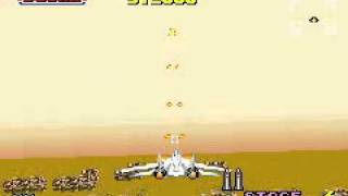 Sega Arcade Gallery (GBA) - After Burner (1/2) No-Death Run