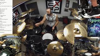 EPIC WIN 3 - DRAGONFORCE - Ashes of The Dawn - GEE ANZALONE Drum Video