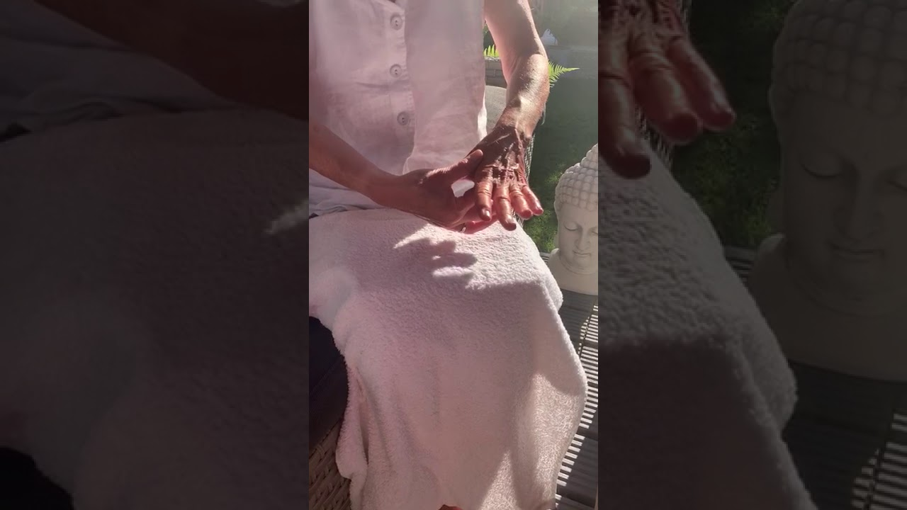 A Hand Reflexology technique which may help to boost the immune system