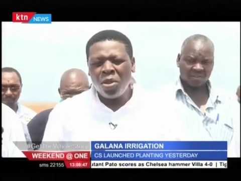 Water Cabinet Secretary launches Galana-Kulalu Irrigation project