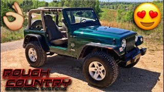Stolen Recovery Jeep Finally Gets A Lift Kit!!!