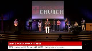 "Living Hope Church Athens | ""Conversations Worth Having About Worship"" 