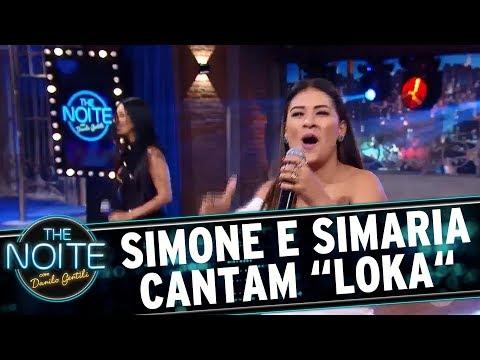 Simone e Simaria cantam Loka   The Noite 23/08/17