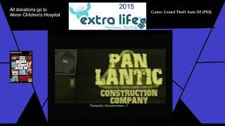 Extra Life 2015: Part 15B - Grand Theft Auto III