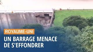 En Angleterre, le barrage de Whaley Bridge menace de s'effondrer, près de 1500 personnes évacuées