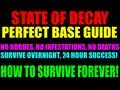State Of Decay Best Home Base & Outpost Setup | How To Survive Forever! | Indestructable Camp Guide