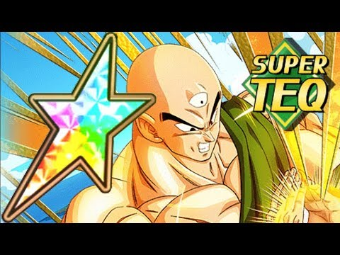 Risky Super Attack 100% TEQ TIEN SHOWCASE Dragon Ball Z Dokkan Battle