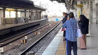 EF210 121号機牽引東京メトロ17000系甲種輸送8862レ名古屋2番線通過