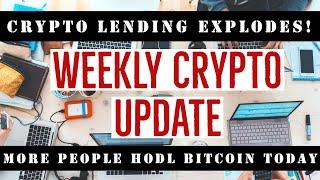 CRYPTO LENDING EXPLOSIVE GROWTH