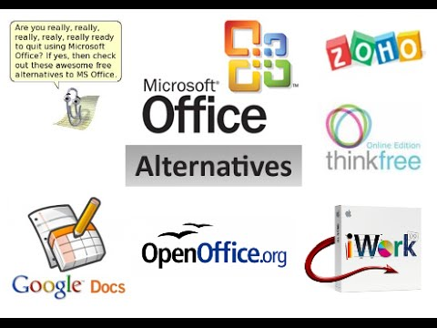 Microsoft Office Alternatives- Products Websites