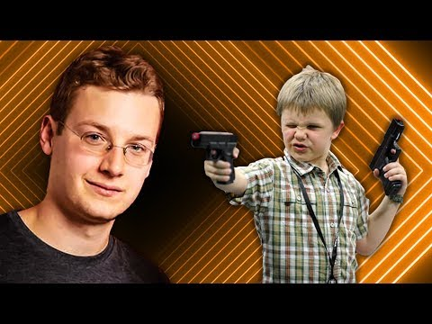 Trusting Children to Play with Guns | Brandon Laatsch on Corridor Cast