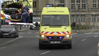 RARE! x2 ZZSHMP Technical Unit responding to ambulance with problems! #1002