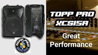 Topp pro Xcs15A outdoor performance | x4 topp pro XCS15A