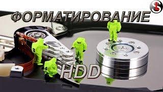 Как отформатировать жесткий диск. 4 Способа