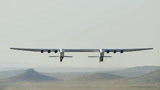 Самый большой самолет в мире совершил первый полет