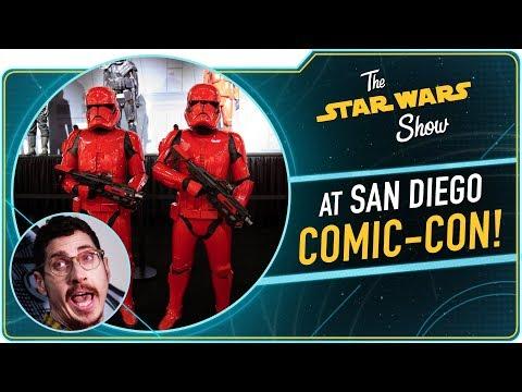 We Brushed Kylo Ren's Hair at San Diego Comic-Con
