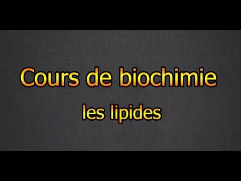 cours de biochimie : les lipides