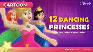 12 Dancing Princesses Kids Story | Bedtime Stories thumbnail