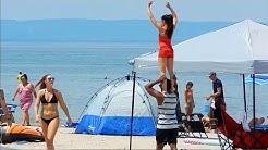 Beach Walk Wasaga Beach 2018 Best in area and Longest in the World