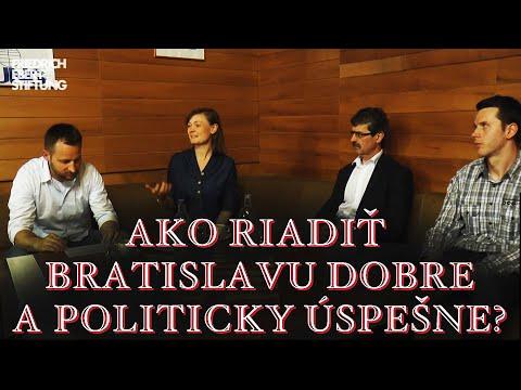 Proforum: Ako riadiť Bratislavu dobre a politicky úspešne?