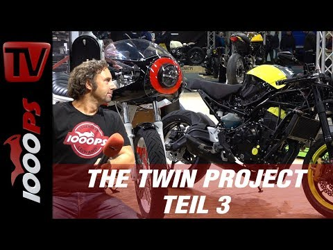 The Twin Project  - Kawasaki Z650 und W650 Umbau by The CURVES - Teil 3 INTERMOT 2018
