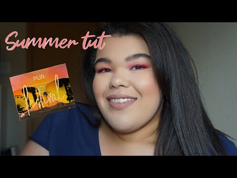 COLORFUL SUMMER LOOK | PUR FESTIVAL PALETTE thumbnail