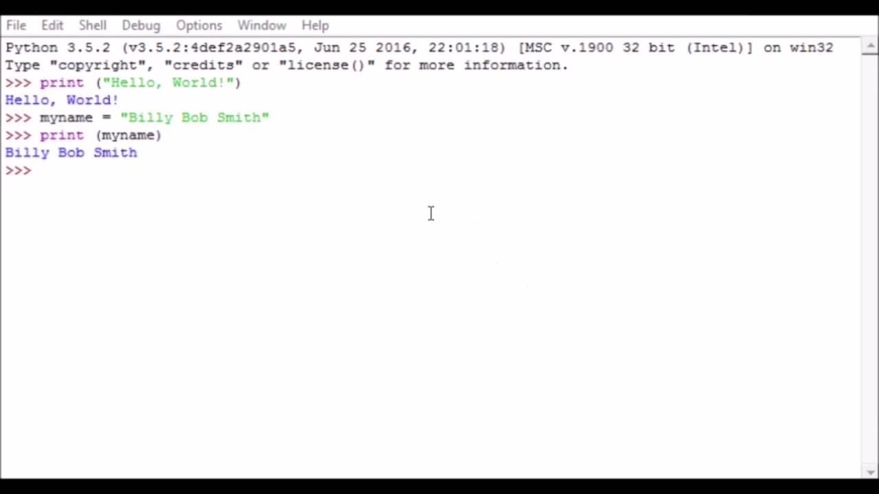 python 3.5.2