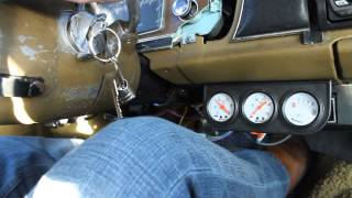 1975 Dodge Dart Slant Six -10F Cold Start!